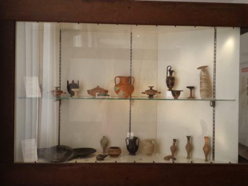 Museo di Lentini – Vetrine Espositive