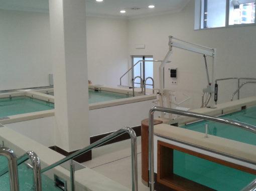 Piscinee Impianti presso il Poliambulatorio di Medicina Riabilitativa Villa Sofia di Acireale (CT)
