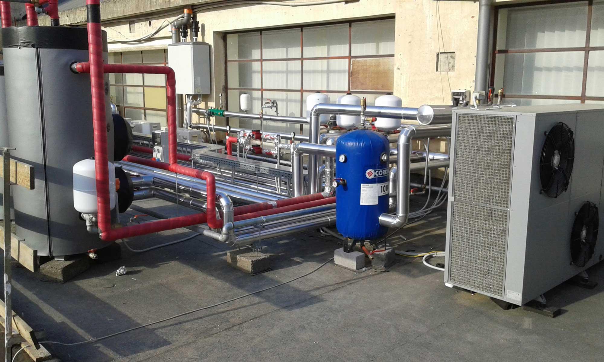 Impianti a servizione del Centro Idroterapico Villa Sofia di Acireale (CT)