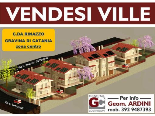 Gravina di Catania (CT) – Realizzazione Ville Zona Centro